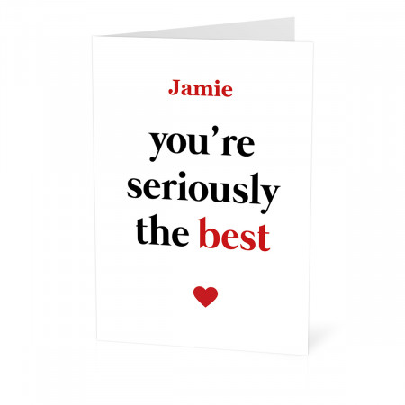 Seriously the Best Card
