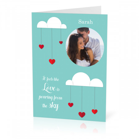 A5 Love Clouds Card