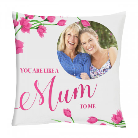 "24"" 'Like a Mum' Mother's Day Canvas Square Cushion"