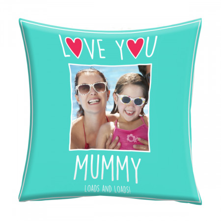 "24"" 'Love You Mummy' Mother's Day Canvas Square Cushion"