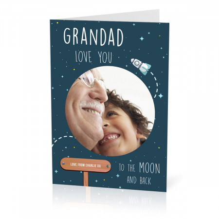 Grandad Moon Card