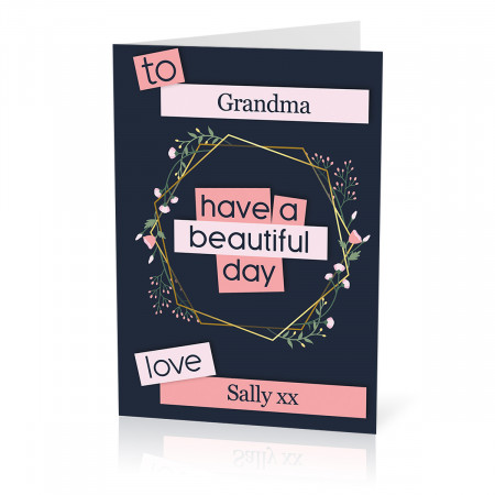A Beautiful Day Card