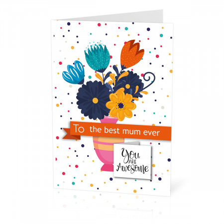 Awesome Flowers Card