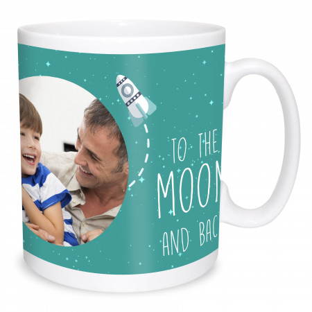 Daddy Moon Photo Mug