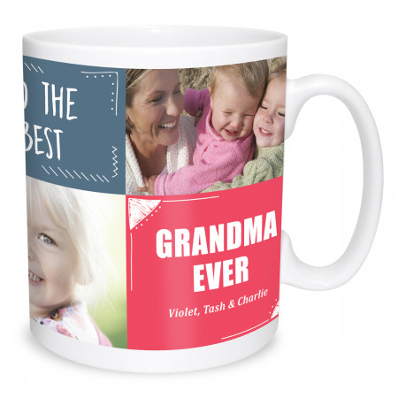 Happy Mother's Day Collage Mug
