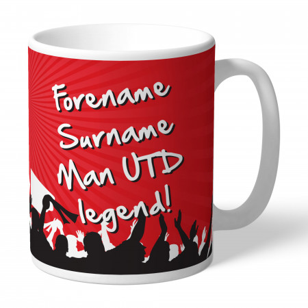 Manchester United FC Legend Mug