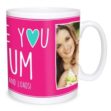 Love You Mum Photo Mug