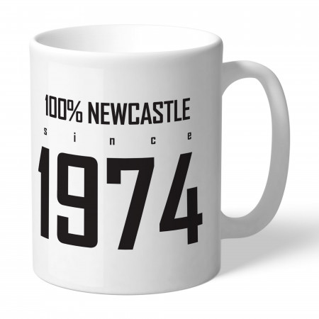 Newcastle United FC 100 Percent Mug