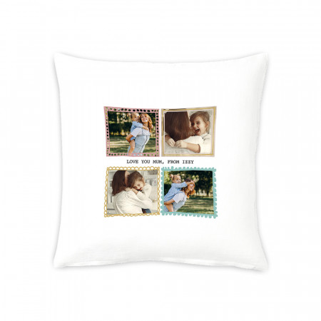 "16"" Pastel Frames Cushion"