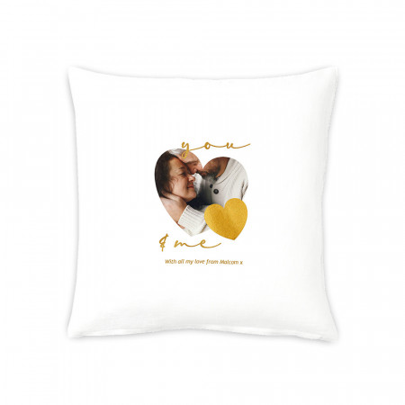 "16"" You and Me Cushion"