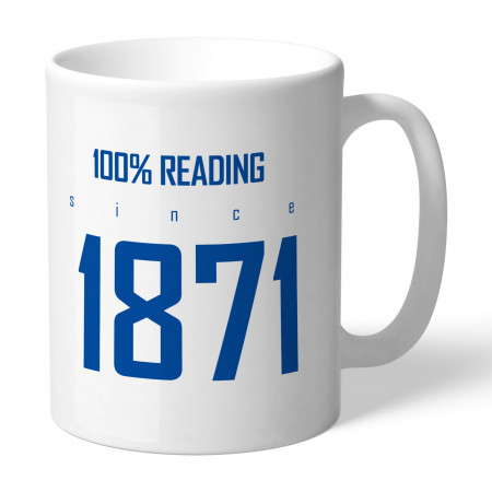 Reading FC 100 Percent Mug
