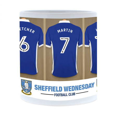 Sheffield Wednesday FC Dressing Room Mug