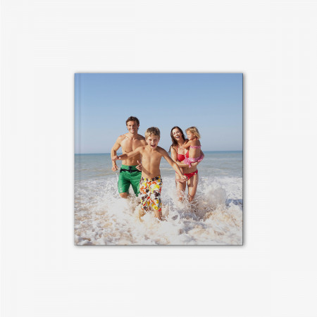 Small Square Photo Book with Hardcover