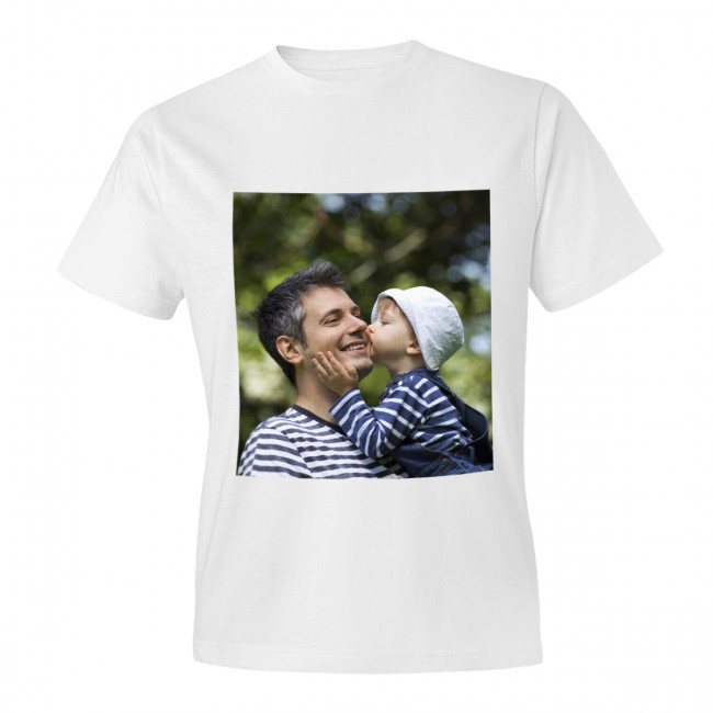 One Sided Adult Photo T Shirt From Max Spielmann