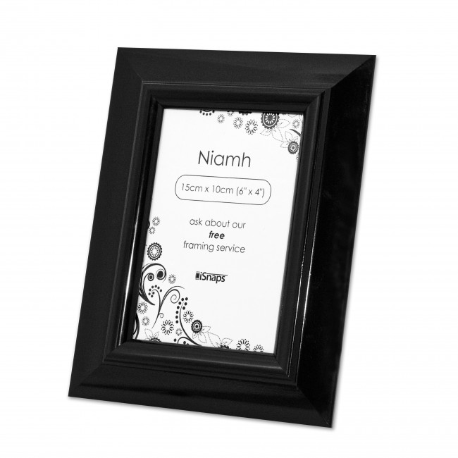 Black Niamh Photo Frame - Max Spielmann