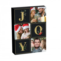 "8"" x 6""Christmas Joy Photo block"