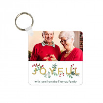 Joyful Christmas Keyring