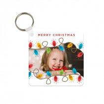 Christmas Lights Keyring