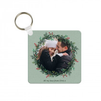Christmas Wreath Keyring