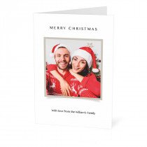 Square Image Christmas Card