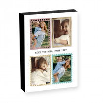 "10"" x 8"" Pastel Frames Photo block"