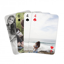 Personalised Playing Cards - Personalised Back and Numbers