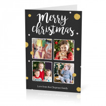 Christmas 4 Image Card