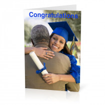 Congratulations Photo Card in a Graduation Design (A5)