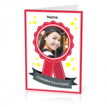 Personalised photo cards