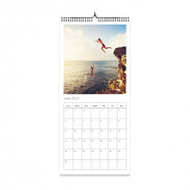 Slim Grid Photo Calendar