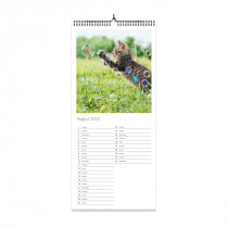 Kitchen Photo Calendar List Style
