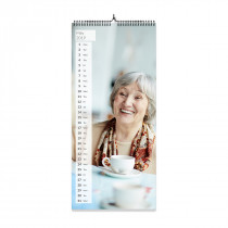 Kitchen Photo Calendar Panoramic Style