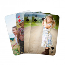 Personalised Playing Cards - Personalised Back and Suits