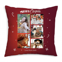 Decorated Christmas Cushion