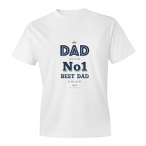 NO1 Dad Adult T-shirt
