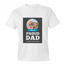 Proud Dad Adult T-shirt
