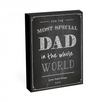 "8"" x 6"" Special Dad Photo Block"