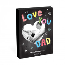 "8"" x 6"" Love You Dad Photo Block"