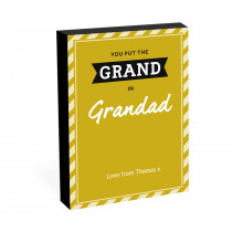 "8"" x 6"" Grand In Grandad Photo Block"