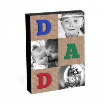 "8"" x 6"" Dad Photo Block"