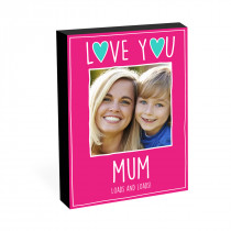"8"" x 6"" Love You Mum Photo Block"