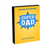 "8"" x 6"" Superdad Photo Block"
