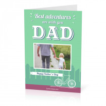 Father's Day Bike Card