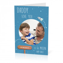Daddy Moon Card