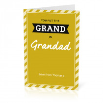 Grand in Grandad Card