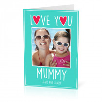 A5 Love You Mummy Card