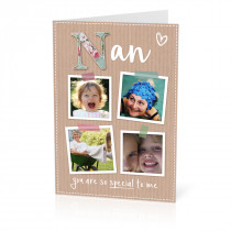 A5 Nan Scrapbook Photos Card