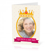 A5 Queen of Mums Card