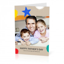 Shapes Father's Day Card