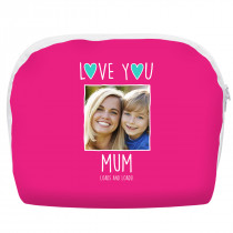'Love You Mum' Make Up Bag Large